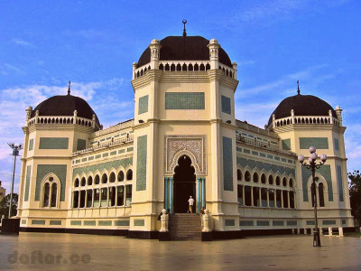 Foto Masjid Raya Medan