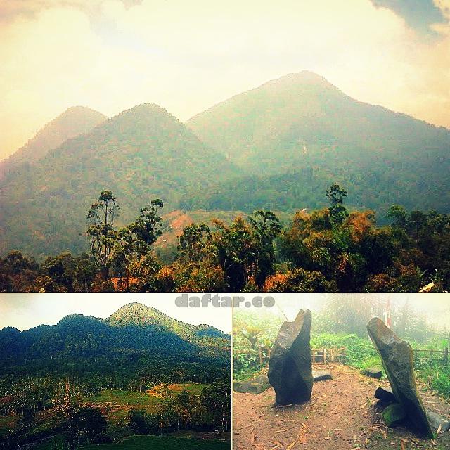 Foto Gunung Batu Tilu