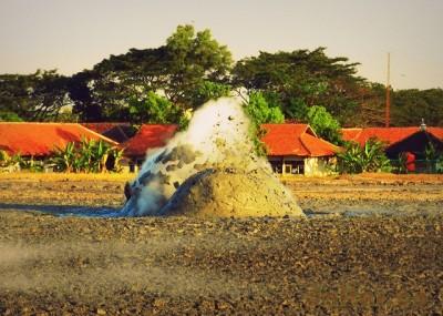 Foto kawah lumpur Bledug Kuwu