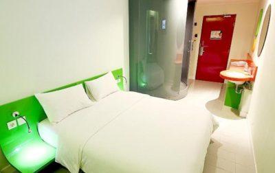 Foto kamar POP! Hotel Bandung